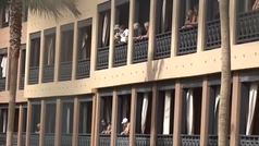 Así viven los huéspedes del hotel de Tenerife la cuarentena por coronavirus