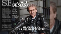 Fernando Simón se toma con humor su portada de motero