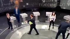 """El desplante de Aitor Esteban a Espinosa de los Monteros: """"No damos la mano a franquistas"""""""
