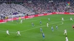 El precioso taconazo de Ceballos que ovacionó el Bernabéu