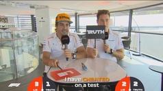 Las confesiones de Alonso en un test de verdadero o falso de la F1