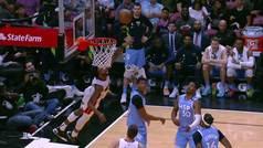 ¡Boquiabiertos! Así se quedaron los Wolves ante la canasta del año en la NBA