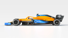 Así es el impresionante McLaren MCL35 de Carlos Sainz