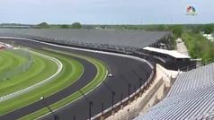 Así fue el accidente de Kyle Kaiser en los entrenamientos de la Indy 500