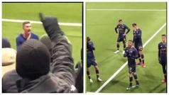 Tras el ridículo, la afición de la Roma se avergonzaba de sus jugadores y no querían ni sus camiseta