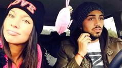 La actriz Natalia Camino publica los mensajes amenazantes que le enviaba el futbolista Albarracín