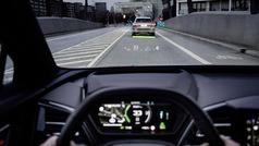 Así es el parabrisas con realidad auementada del Audi Q4 e-tron