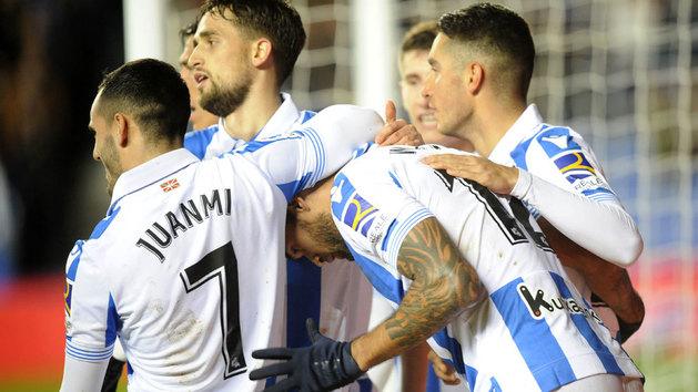 LaLiga (J19): Resumen y goles del Real Sociedad 3-2 Espanyol