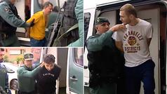 Pasan a disposición judicial los cuatro detenidos de la banda que asaltaba casas de futbolistas
