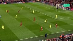 Gol de Wijnaldum (2-0) en el Liverpool 4-0 Barcelona