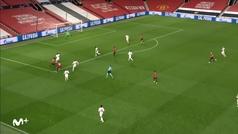 Gol de Rashford (5-0) en el Manchester United 5-0 RB Leipzig