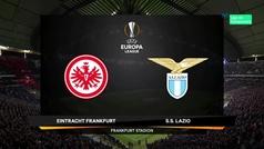 Europa League (J2): Resumen y goles del Eintacht Frankfurt 4-1 Lazio