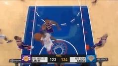 Knicks 124-123 Lakers