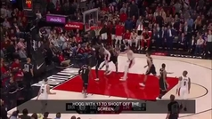 ¡Indignación total! En la NBA alucinan con el arbitro que se tropieza con la pierna rota de Jusuf Nurkic