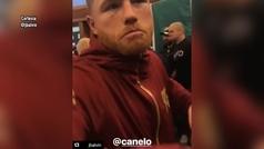 J Balvin reta al Canelo Álvarez tras su triunfo ante Rocky Fielding