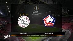 Uefa Europa League (Vuelta de dieciseisavos de final): Resumen y goles del Ajax 2-1 Lille