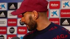 """Benzema: """"¿Fichar un nueve? Eso es cosa del club, a mí me da igual"""""""