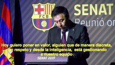 """Bartomeu insiste en respaldar a Valverde: """"Confiamos plenamente en él"""""""