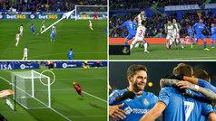 Doblete top de Jorge Molina: ¡cañonazo desde la frontal y gol de killer tras tacón de Mata!