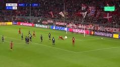 Gol de Müller (3-0) en el Bayern 3-0 Estrella Roja