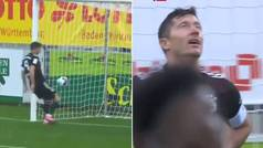 ¿Qué te pasó Lewandowski? Iguala el récord de Müller... y falla la más clara de toda su carrera
