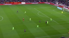 MX: Gol de Dembélé (1-0) en el Barcelona 3-0 Levante