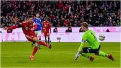 Bundesliga (J21): Resumen y goles del Bayern Munich 3-1 Schalke 04
