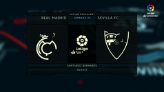 LaLiga (J20): Resumen y goles del Real Madrid 2-0 Sevilla