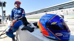 """Fernando Alonso: """"Si gano las 500 Millas no será la Triple Corona, sino algo más"""""""