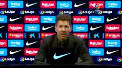 """Simeone: """"No veré el Real Madrid, últimamente no lo paso bien"""""""