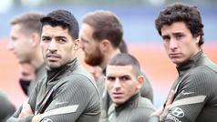 El Atletico ya piensa en el choque ante Osasuna