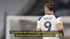 """Mourinho: """"No creo que Bale haya contribuido a la distracción de sus compañeros"""""""