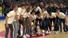 Baño de gloria madridista para los campeones de Europa júnior