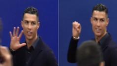 """Cristiano Ronaldo al irse del Wanda: """"Yo tengo cinco Champions, el Atlético cero"""""""
