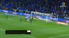 Gol de Granero (1-0) en el Espanyol 1-0 Huesca