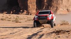 Alonso, ensayo general para el Dakar