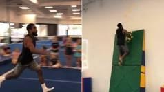 Salto de altura con post-it, ¿el próximo mundial random de Ibai Llanos?