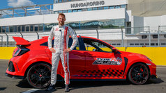 Jenson Button bate el récord de Hungaroring con el Civic Type R