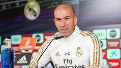 """Zidane: """"¿Fichajes en invierno? Puede pasar de todo, llegado el momento lo veremos"""""""