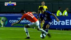 Take Kubo ya brilla en la Copa América: brutal caño y jugadón ante Chile