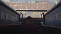 """La primera vez que Dest pisó el césped del Camp Nou: """"Sin palabras..."""""""