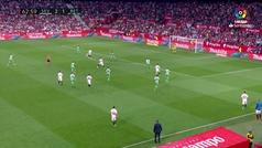 Gol de Oro (J32). Gol de Franco Vázquez (3-1) en el Sevilla 3-2 Betis