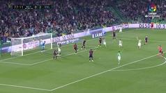 Gol de Lo Celso (p.) (1-2) en el Betis 1-2 Valencia