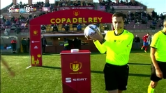 Copa del Rey (1/16 final): Resumen y goles del Navalcarnero 3-1 Eibar