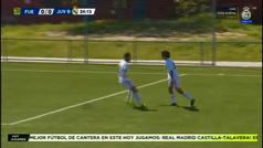 Julen Jon Guerrero sigue impresionando en el Juvenil B del Real Madrid