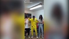 Omar Montes baila con Victoria Federica en Tik Tok