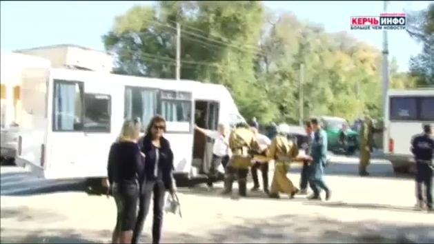 Al menos 18 muertos en un ataque en un instituto de Crimea