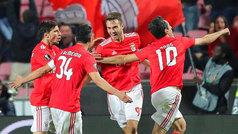 Europa League (octavos, vuelta): Resumen y goles del Benfica 3-0 Dinamo Zagreb