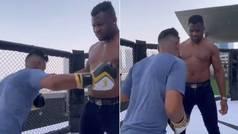 Esto es lo que ocurre cuando le das 20 puñetazos a un campeón de la UFC
