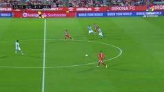 Gol de Stuani (3-1) en el Girona 3-2 Celta